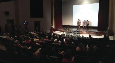 Fashion show at Donna Reed Theater