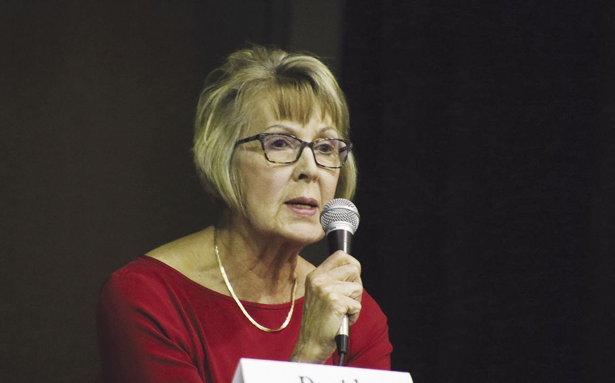 Pam Soseman, Denison mayoral candidate, November 5, 2019, election