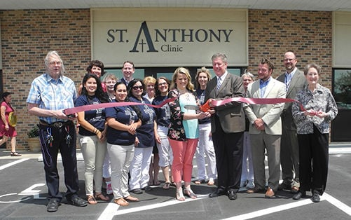 St Anthony Denison Clinic Open House News Dbrnews Com