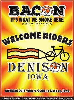 RAGBRAI 2018 Visitors Guide to Denison, Iowa