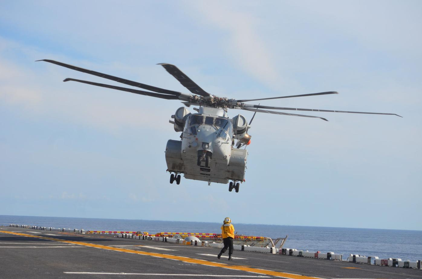 CH-53K Integrated Test Team stretches King Stallion's sea legs
