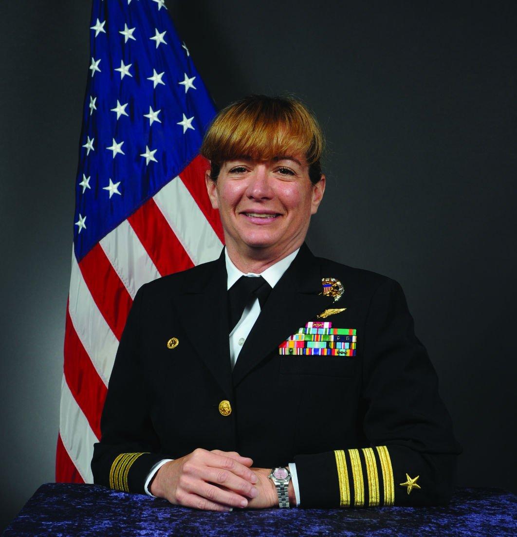 Capt. Mary Feinberg Commanding Officer