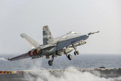 Naval aviation achieves SECDEF readiness target