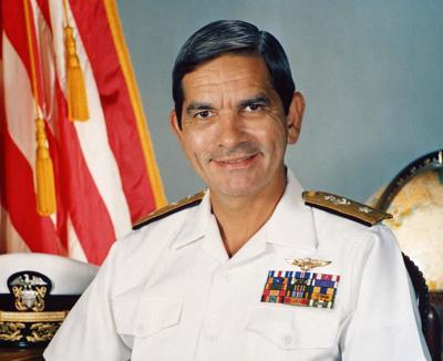 VADM Diego Hernandez: Crisis leader, decorated pilot, Hispanic hero