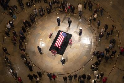 Pax River officer pays last respects to Bush 41   Local
