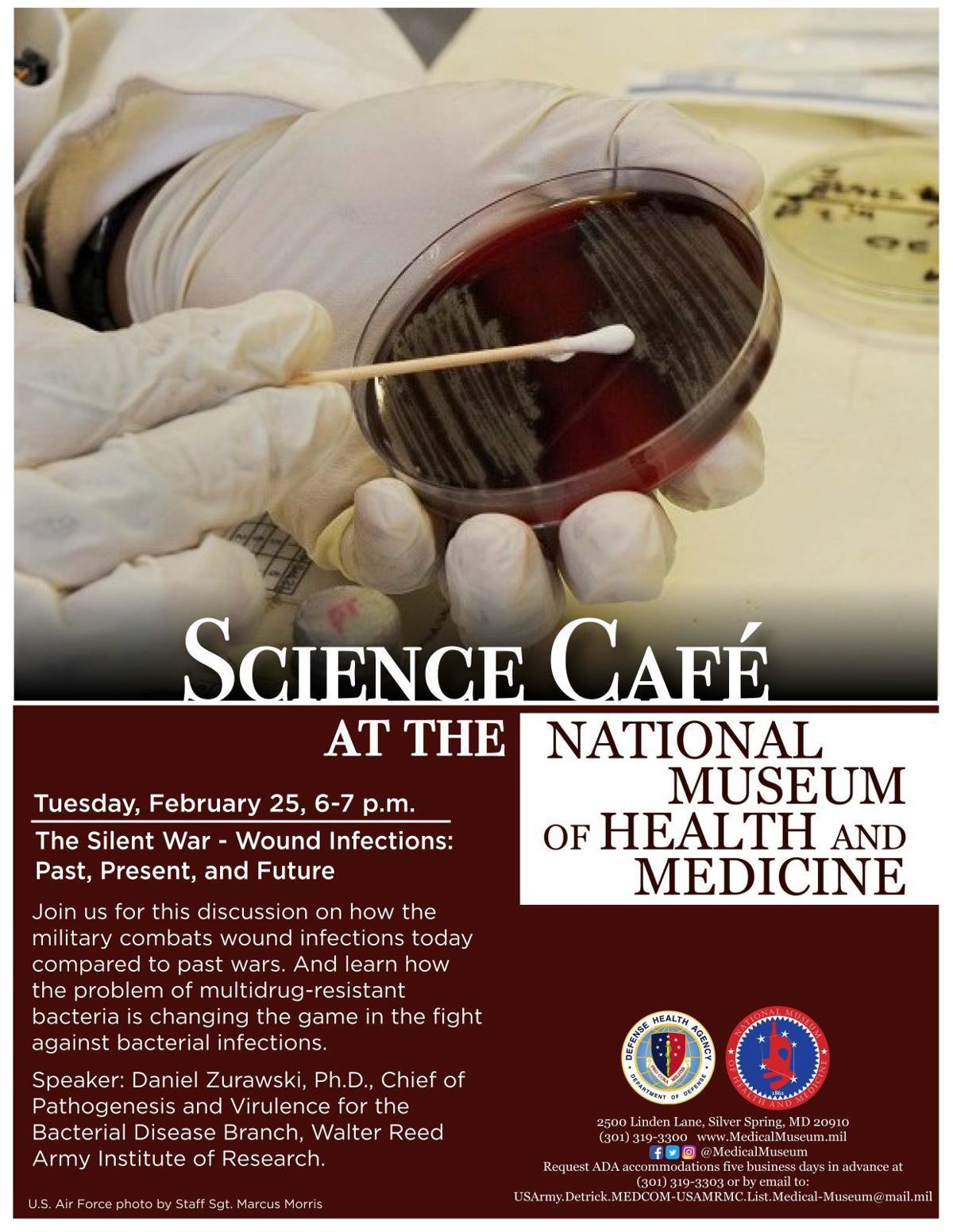 Feb. 2020 Science Cafe Flyer