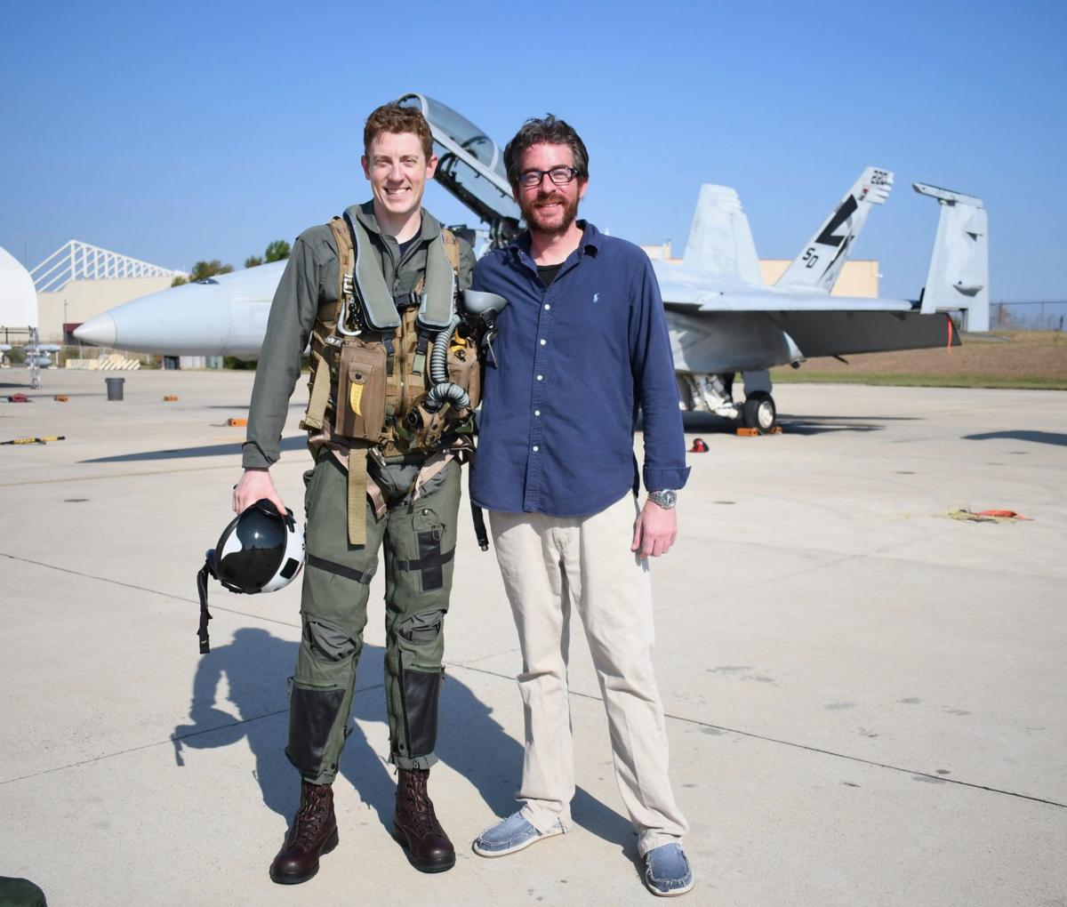 Pax controller tracks brother's first tactical jet flight