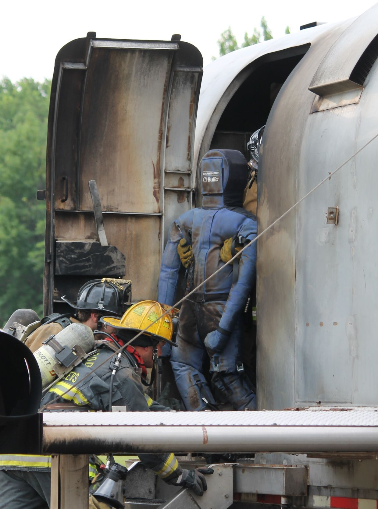 Aircraft Rescue Firefighter class put to test at Pax River