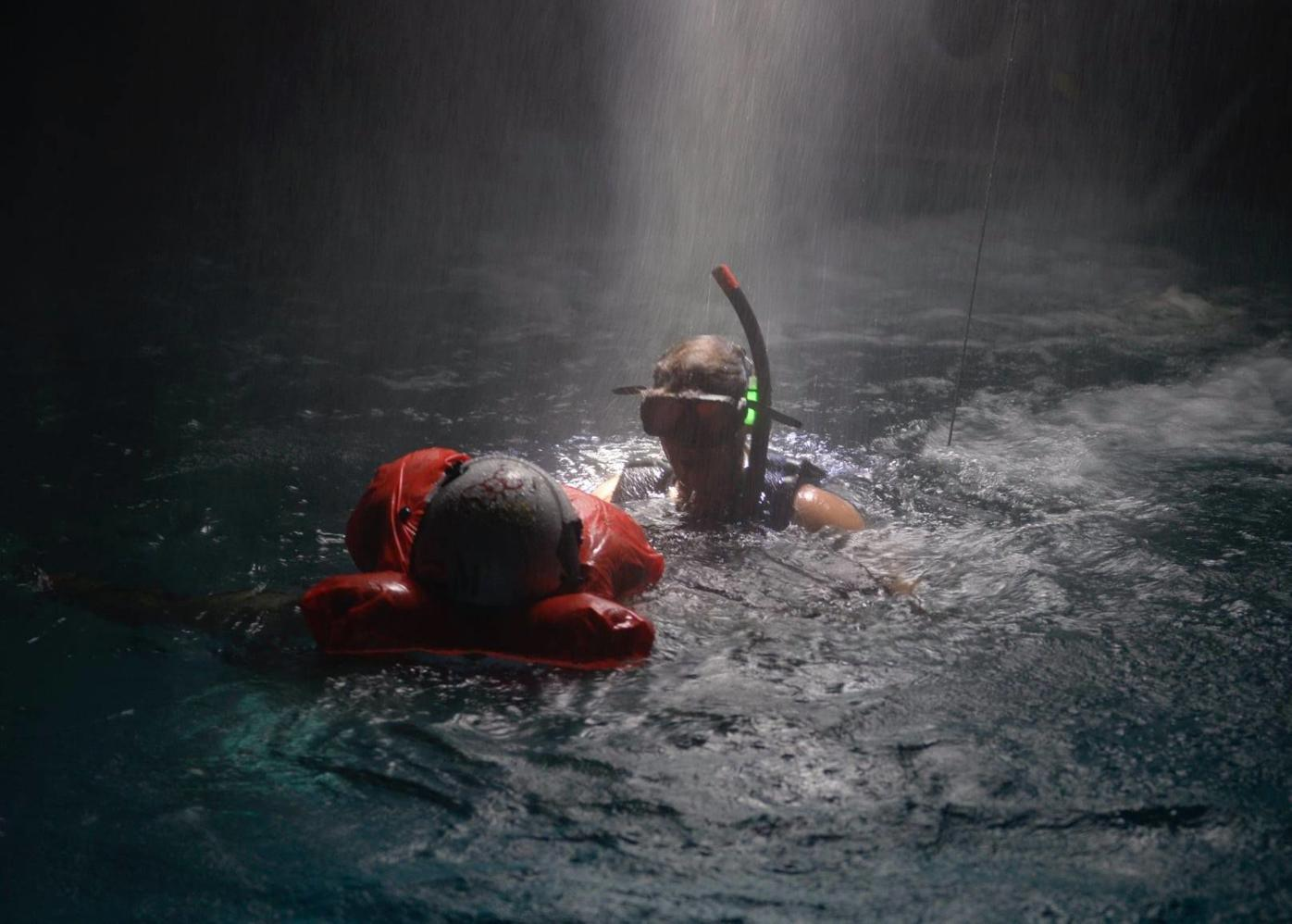 'So others may live': Rescue swimmer training simulates nighttime conditions