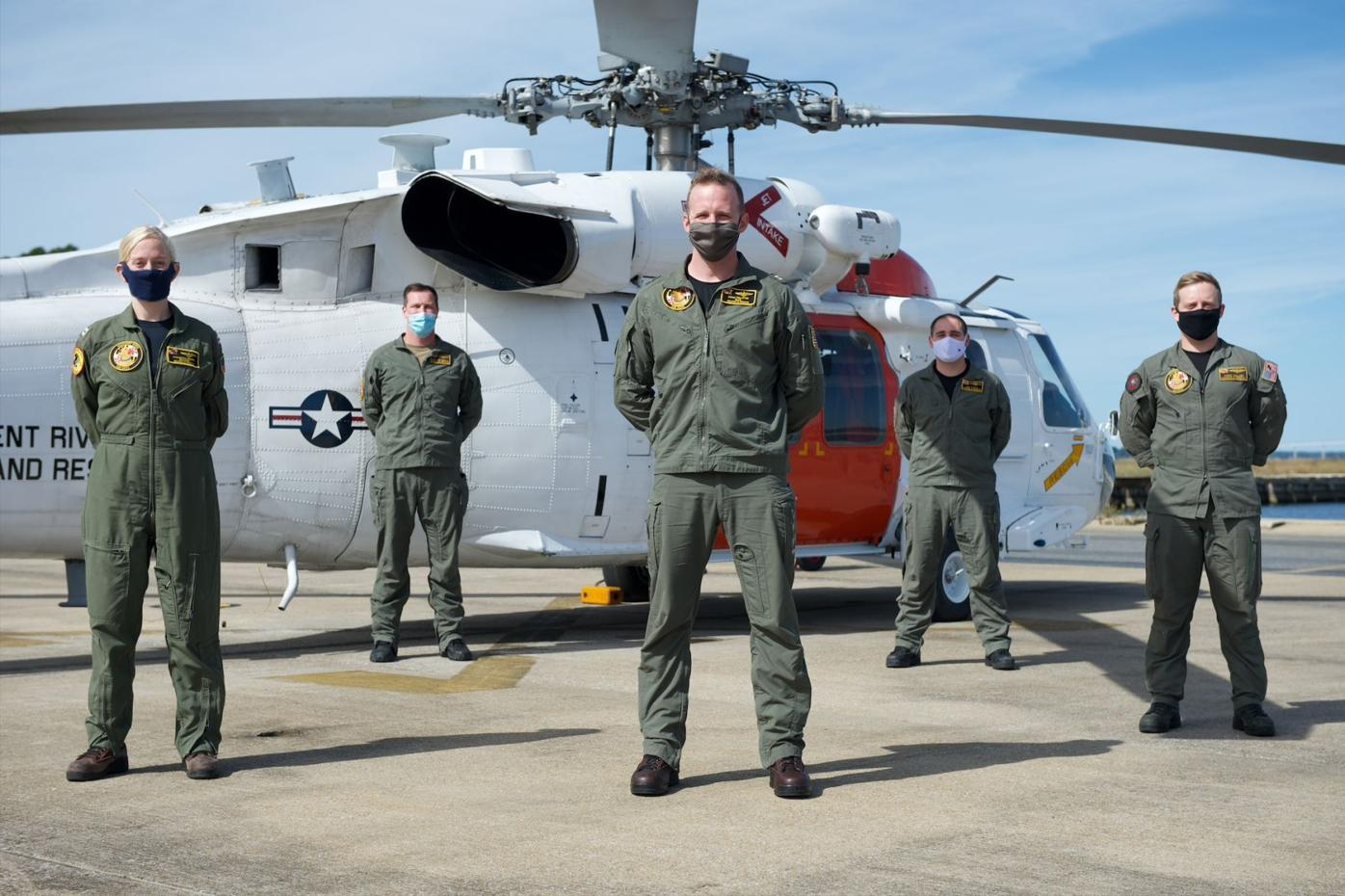VX-20, Pax SAR teams assist in rescue of downed Hawkeye crew