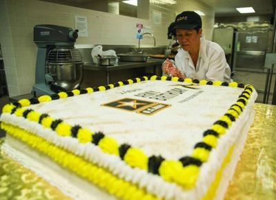 Army 240th Birthday Cake
