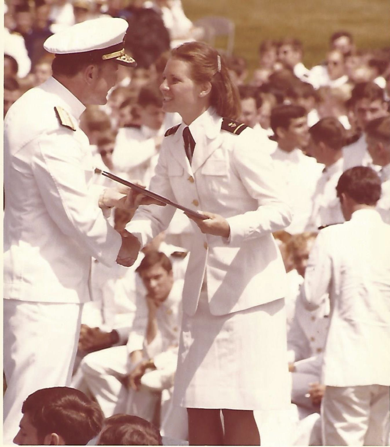 Life not easy for first class of women at U.S. Naval Academy