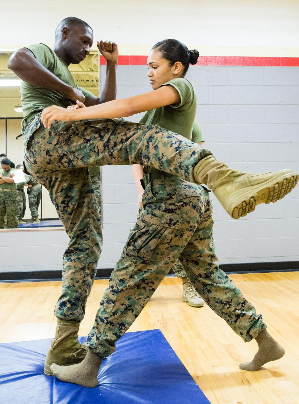 One Mind, Any Weapon: Henderson Hall Marines participate in Corps