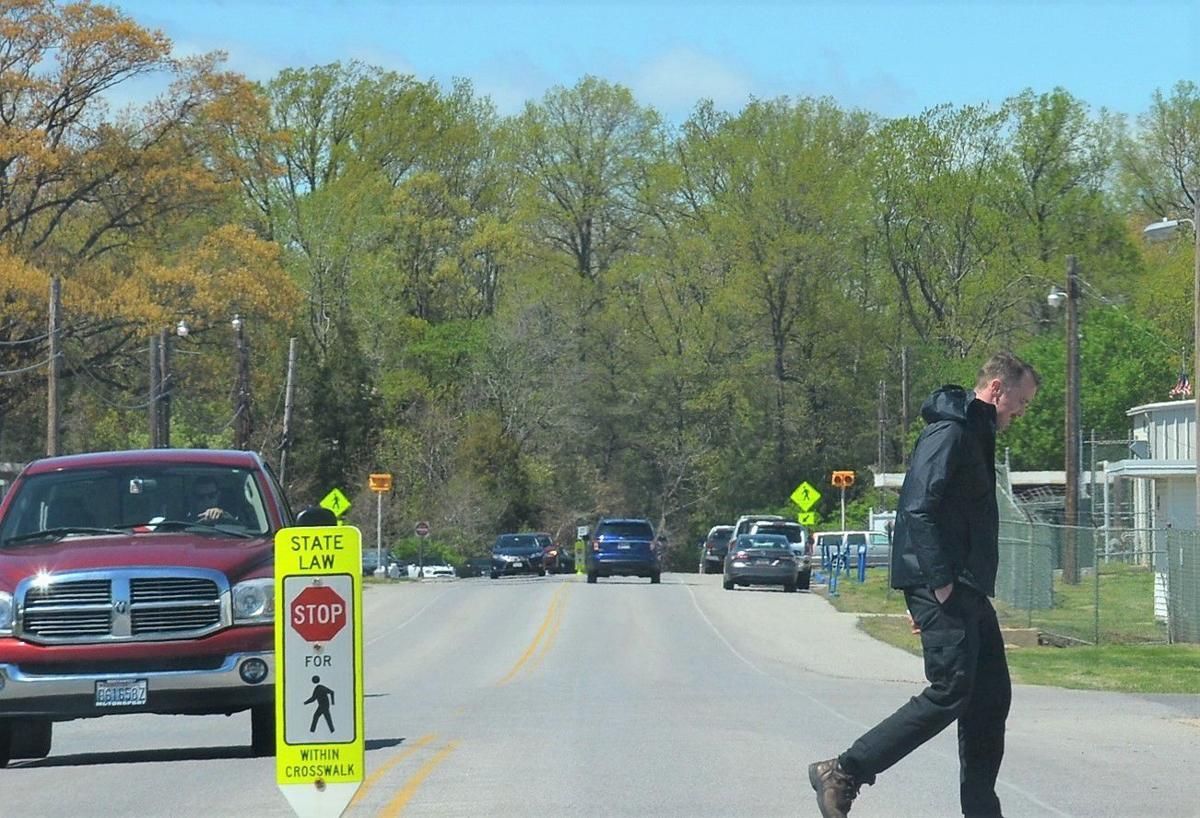 Pax police step up enforcement of crosswalk safety violations