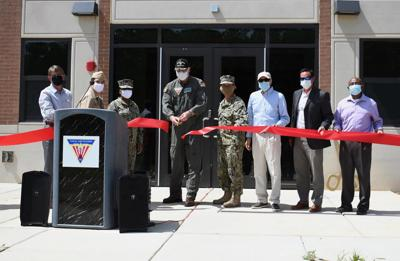 Ribbon cutting opens newly constructed Single Enlisted Barracks