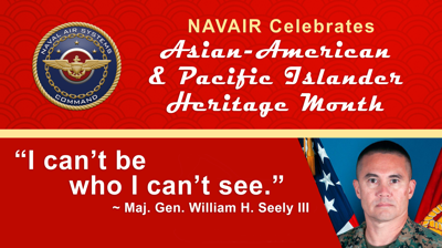 Sharing a personal story during Asian-American Pacific Islander event