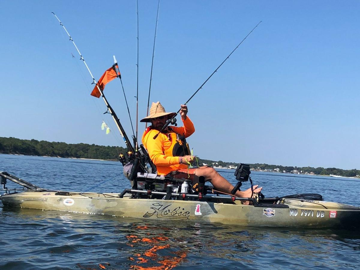 NRC Solomons hosts kayaking event benefitting wounded troops