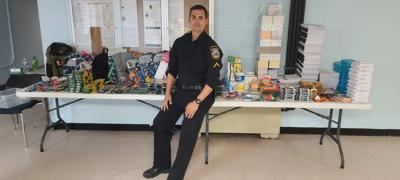 Pax River police officer enjoys serving his community