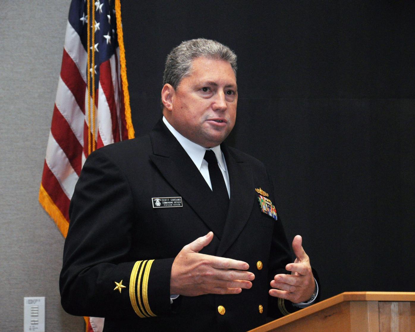 Lt. Cmdr. Scott Corsano