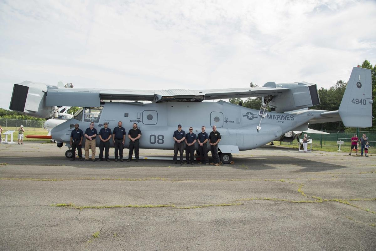 'Eight-Ball': MV-22B test aircraft No. 8 leaves legacy