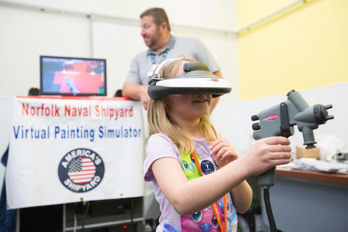 Washington Navy Yard hosts Bring a Child to Work Day