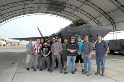 F-35 Rapid Response Team takes repairs on the road