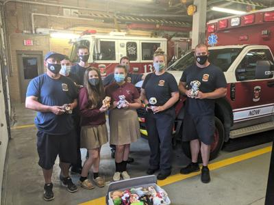 Pax River fire department receives students' Passion Project donations