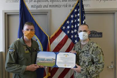 USNTPS maintenance chief honored for service
