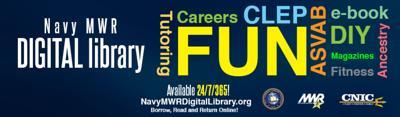 Navy MWR Digital Library always open