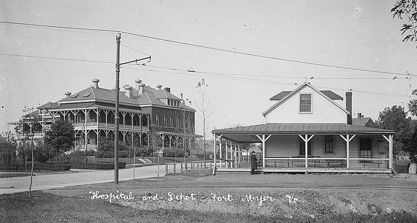 Ft. Myer Hospital 1914