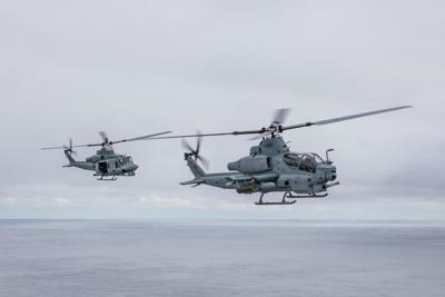 H-1 mixed fleet soars past 400K flight hours