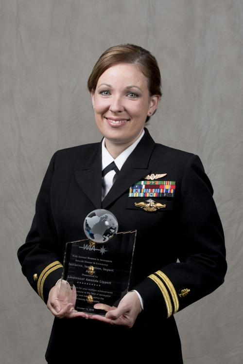 Lippert honored at Women in Aerospace Awards ceremony