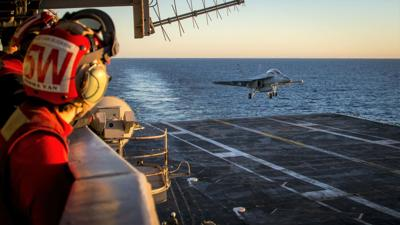 Navy receives first production unit of next-gen precision landing system