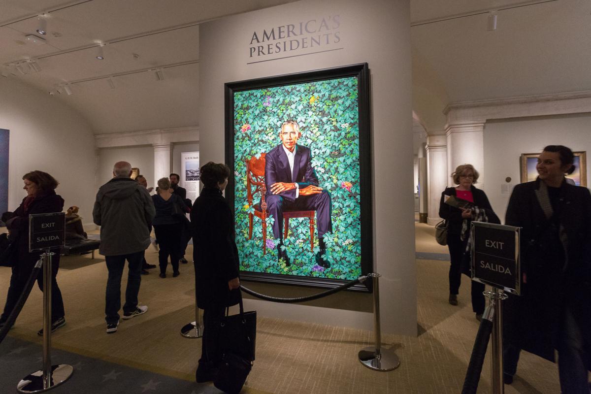 Portrait of President Obama