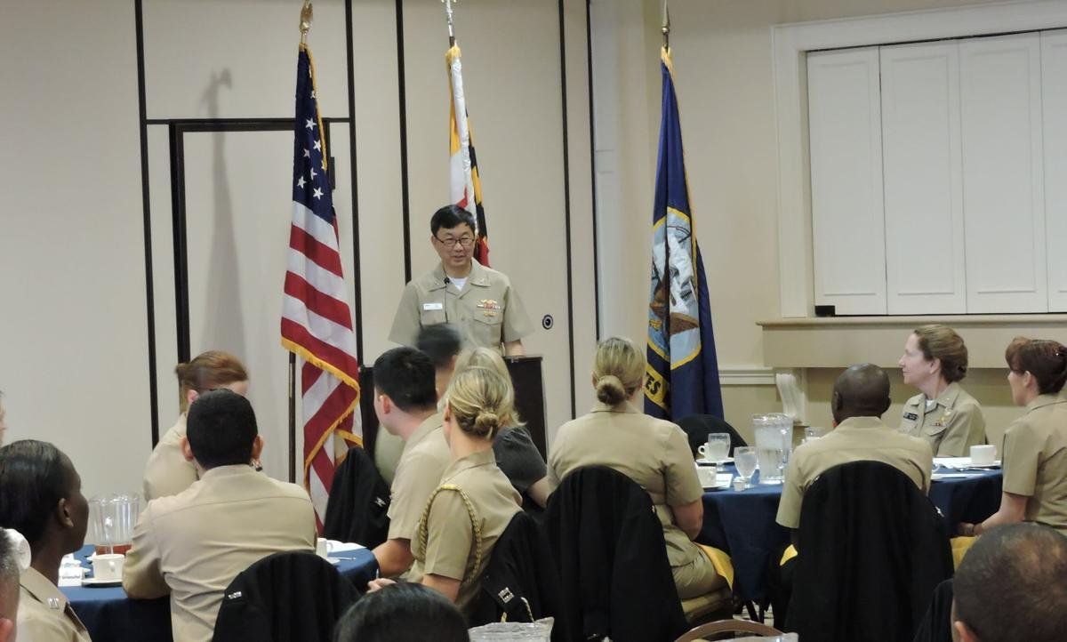 navy supply corps luncheon celebrates history heritage and mission