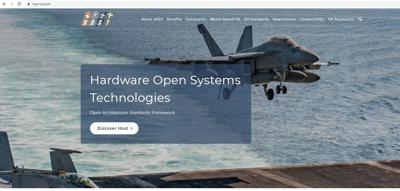 PMA-209 launches website to support open architecture design