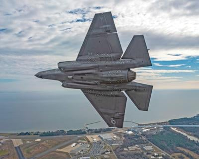 F-35 test team working hard to bring new weapons to fight