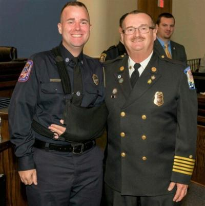Retired Pax River fire chief inducted into Navy Fire & Emergency Services Hall of Fame
