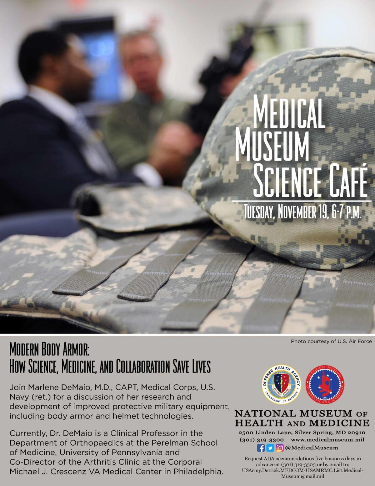 Medical Museum Science Cafe