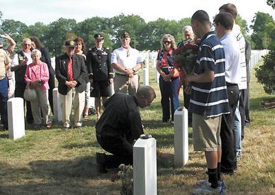 CASA, veterans visit JBM-HH