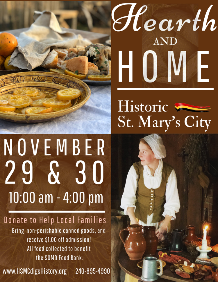 Hearth and Home at Historic St. Mary's City