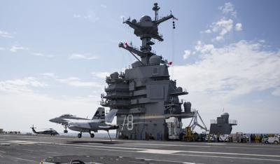 Advanced Arresting Gear ready for props and jets