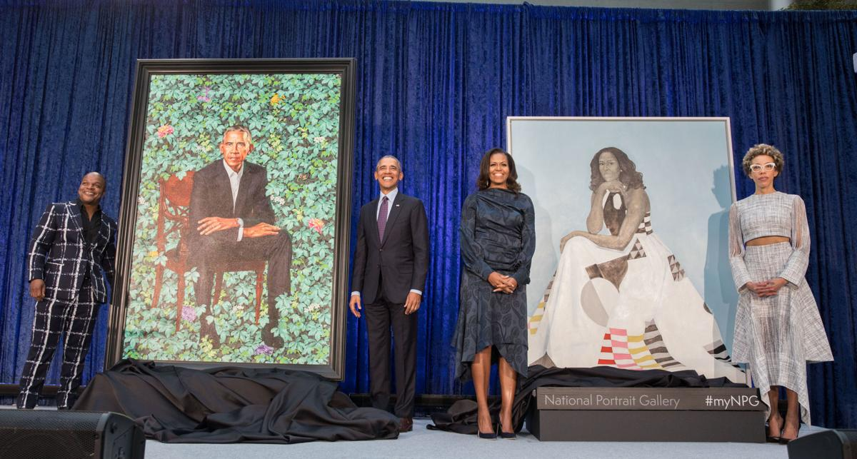 Unveiling of Obama Portraits