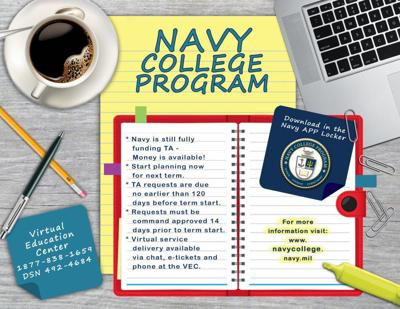 Navy Approves More Tuition Assistance Semester Hours, Raises Funding Cap