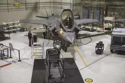 Joint testing clears F-35B/C for night refueling