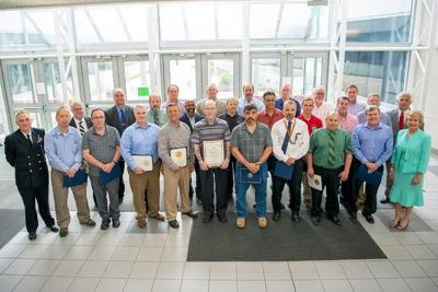 NAWCAD leadership recognizes civilians for decades of service