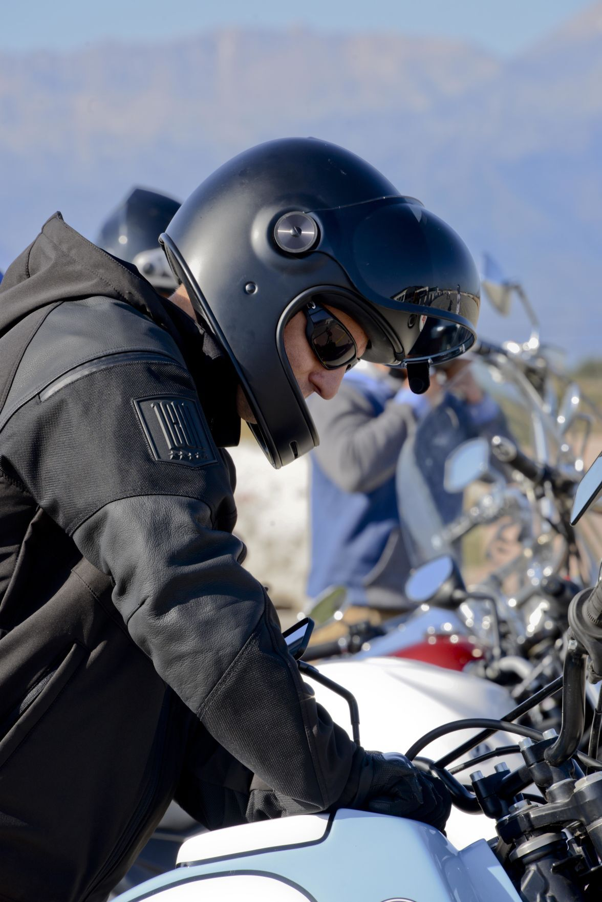 Naval Safety Center offers motorcyclists tips to weather winter