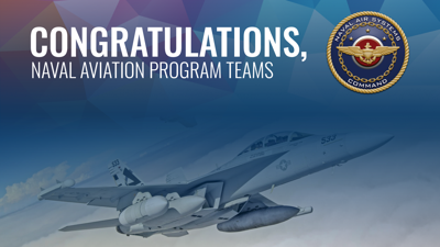 Naval aviation programs win acquisition excellence awards for innovation, outstanding contributions