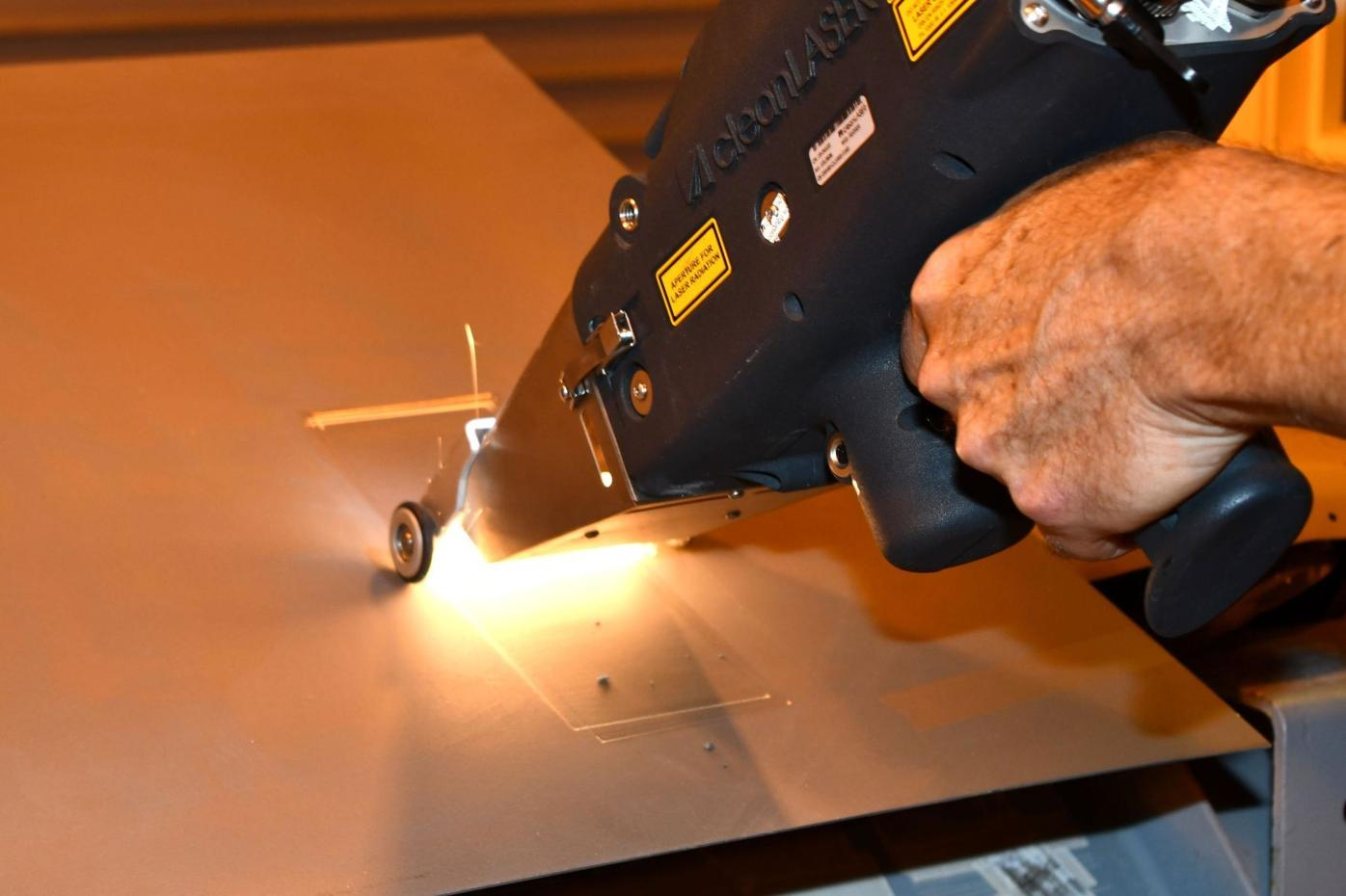 FRCE explores new laser technology to remove corrosion, coatings