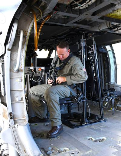 NAVAIR delivers first redesigned MH-60s gunner seats to fleet